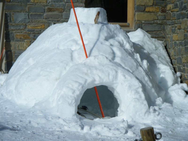 un bel igloo