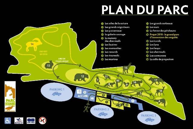 Le parc animalier des pyr n es centre d 39 altitude du for Parc animalier dans les yvelines